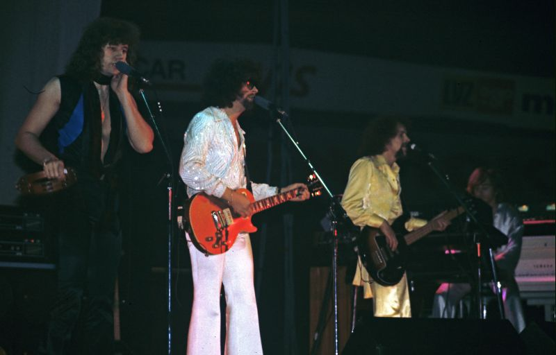 ELO in concert Z�rich on May 13, 1978